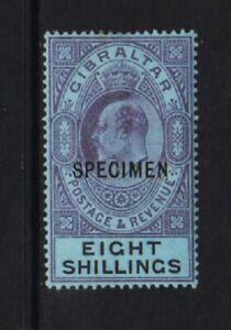 Gibraltar - #47 Specimen overprint
