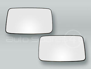 Heated Door Mirror Glass and Backing Plate PAIR fits 1993-1998 VW Golf MK3