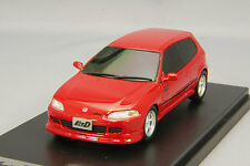 1/43 Hi-Story Modeler Honda Civic EG6 initials D Shoji Shingo Red MD43206