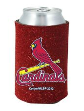 St. Louis Cardinals Glitter Can Coozie -NEW Womens Koozie Bling Drink Holder MLB