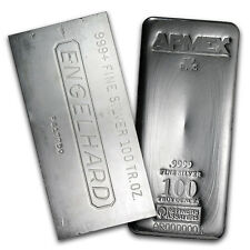100 oz Silver Bar Direct from Mint - SKU #105144