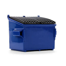 BRAND NEW 2018 ''BLUE'' DUMPSTER BIN FOR GARBAGE TRUCKS  by FIRST GEAR