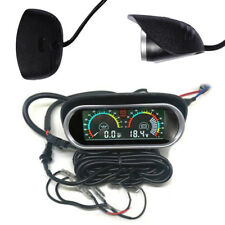 Digital 12V 24V Car Truck Tractor Oil Pressure Gauge Voltmeter Voltage Meter 1x