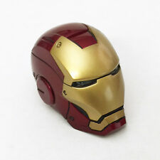 HOT TOYS IRON MAN 3 WORKSHOP ACCESSORIES 1:6 MARK VII LED LIGHT-UP HELMET ~NEW~