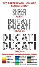 Kit adesivi Ducati 6 pezzi stickers serbatoio pvc decals sport vintage carena