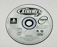 NFL Xtreme 2 Black Label (Sony PlayStation 1, 1999) Disc Only