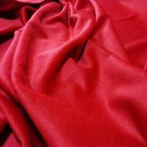 By Yard Red Cashmere Material Elegant Winter Coat Fabric