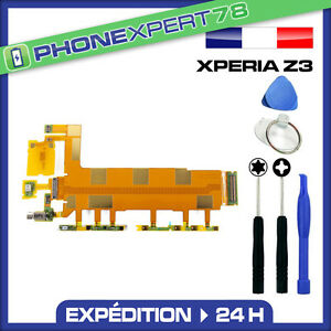 NAPPE POWER ON OFF + VOLUME + MICRO POUR SONY XPERIA Z3