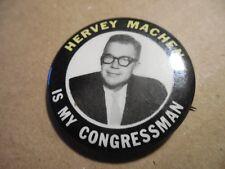 Maryland Pin Back Campaign U.S. House Congress Local Button Hervey Machen Badge