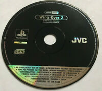 Wing Over 2 / Rare Full Game Promo Version / PS1 Playstation 1 PS2