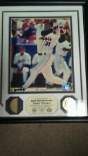 Mike Piazza Highland Mint Photo Mint Game Used Bat Plaque HOF New York Mets /650