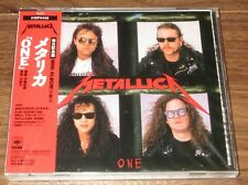 METALLICA Japan 5 track 1989 CD One - still SEALED - obi - MORE METALLICA listed