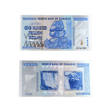 HUNDRED TRILLION DOLLAR 999.9 Silver Plated Banknote Zimbabwe Note Metal Crafts