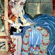 LE PORTRAIT DE MADAME DE SABRAN André LeBreton L'Illustration Georges Barbier 24