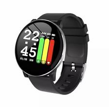 Bluetooth smart watch with fitness tracker for iOS / Android phones