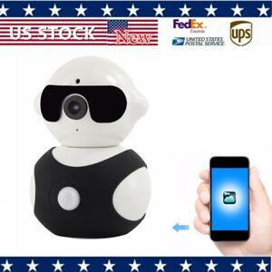 Robot 960P LED Floodlight Security Camera WiFi Motion Detect Siren Alarm