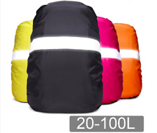 Backpack Rain Cover Reflective and Waterproof for Cycling Hiking Bag  20L or 35L