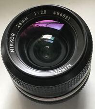 Objectifs grand angle 24 mm pour appareil photo et caméscope Nikon F