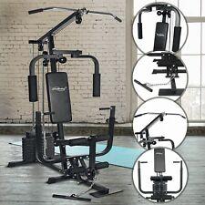 Banc de Musculation Multifonction Station Complet avec Poids 40 kg Fitness Gym