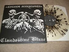 Satanic Warmaster Clandestine Blaze LP ORIGINAL 1PRESS Warloghe Behexen Baptism
