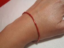 Red String Beaded Bracelet-Kabbalah with 7 beads, representing 7 knots Feng Shui