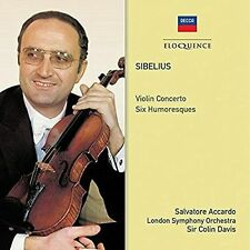 SIBELIUS: VIOLIN CONCERTOS; SIX HUMORESQUES NEW CD