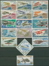 Monaco 1964 Luftfahrt Flug-Ralley Monte Carlo 756/71 postfrisch