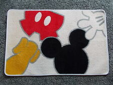 DISNEY MICKEY MOUSE BODY PARTS RUG - VERY RARE