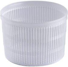 10 Pz. Fuscelle Forme contenitori da 400/600 gr. per Formaggio Caciotta Ricotta