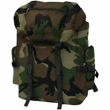 Army Military Style Backpack Rucksack Travel Hiking Camping Bag 65 L Camouflage