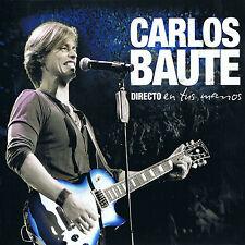 CD + DVD Set Directo En Tus Manos - Carlos Baute Sealed ! New !
