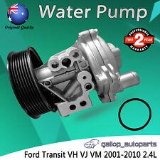 Water Pump Ford Transit VH VJ VM 2001-2010 Ute Van 2.4L 4cyl D4FA Diesel Turbo