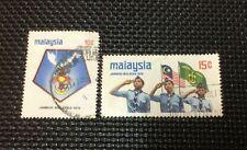 Malaysia 1974 Scout Jamboree 2v Used