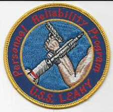 USS Leahy DLG-16, Personnel Reliability Program (US Navy Ship Patch) (1976)
