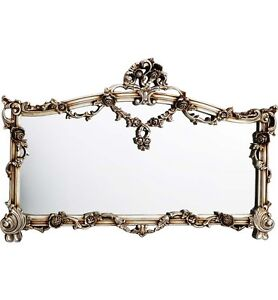 Traditional French Style Antique Mirror in Champagne