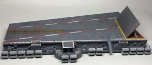 1/72 USNAVY Aircraft Carrier CVN No.4 Catapult Deck & Catwalk Diorama