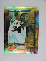 Charles Oakley New York Knicks 1994 Topps Finest Basketball Card 144
