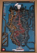 Ghostbusters Metroplasm Anthony Petrie Movie Poster Print Signed 2014