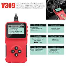 V309 Universal Car Scanner Tool OBD2 Diagnostic Engine Fault Code Reader Scanner