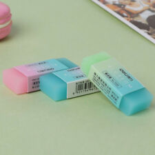 1x Soft Durable Flexible Cube Jelly Colored Pencil Rubber Eraser Stationery Gift