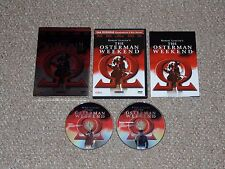 The Osterman Weekend DVD 2004 2-Disc Set Complete Anchor Bay Sam Peckinpah