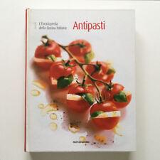 L'ENCICLOPEDIA DELLA CUCINA ITALIANA VOLUME 1 ANTIPASTI MONDADORI