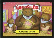 Garbage Pail Kids Mini Cards 2013 Black Parallel Base Card 75a GOLDIE Locks
