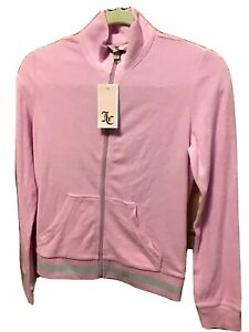 NWT Juicy Couture Women's Sweatshirt size S, Pink, cotton/polyester MSRP $108