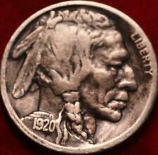 1920-S San Francisco Mint Buffalo Nickel