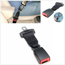 One Pair Black 25cm/9.84'' Car Vehicles Seat Seatbelt Safety Belt Extender 2.1cm