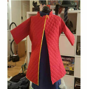 Medieval Gambeson For Armor Reenactment Full Sleeves