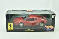 Hot Wheels Ferrari 1984 Ferrari Testarossa 1:18 Scale Car