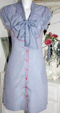 Eucalyptus Tunika  Kleid Dress Nostalgie Rozzie White/Blue   Size: S  Neu