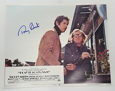 TONY ROBERTS SIGNED PLAY IT AGAIN SAM LOBBY CARD 11X14 PHOTO JSA CERTIFICATE